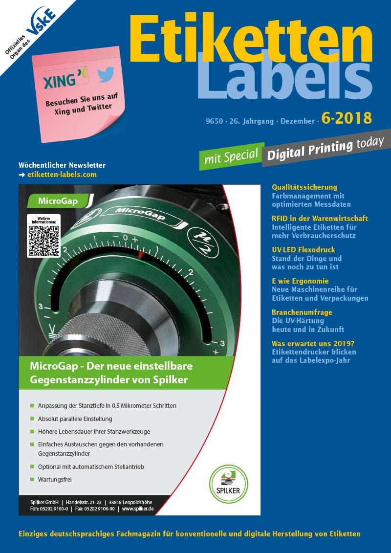 Produkt: Etiketten-Labels 6/2018 Digital