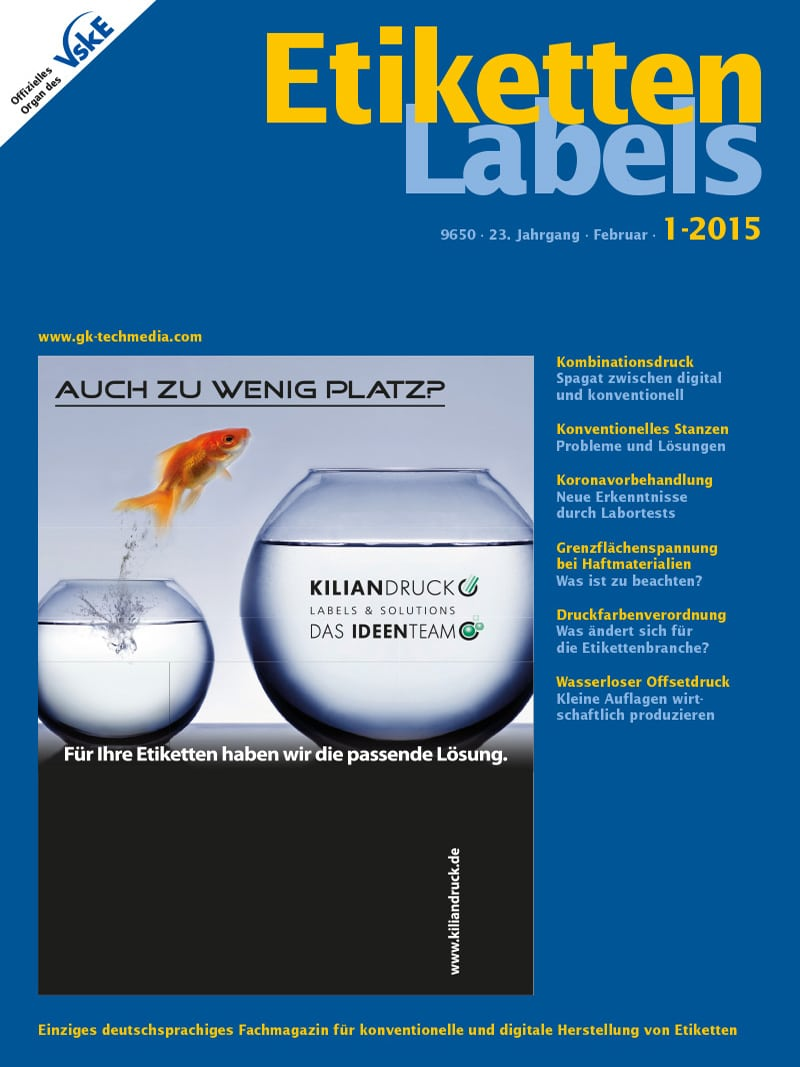 Produkt: Etiketten-Labels 1/2015 Digital
