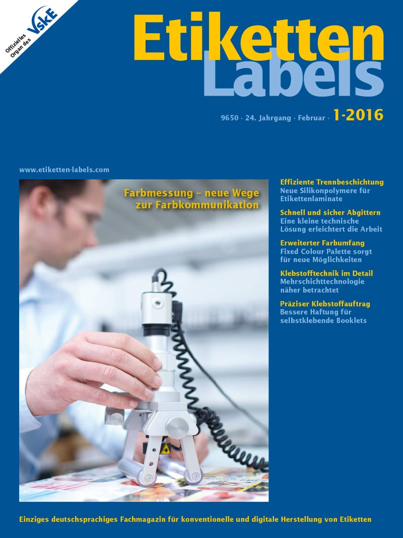 Produkt: Etiketten-Labels Digital 1/2016