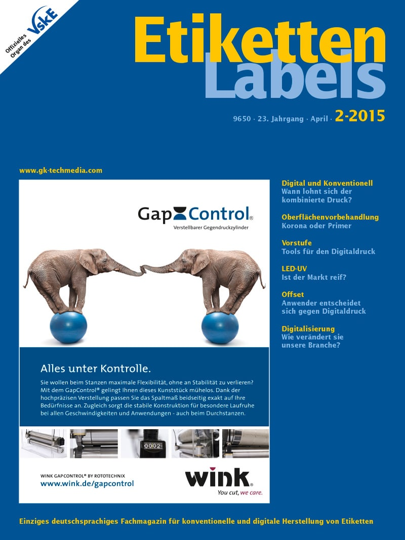 Produkt: Etiketten-Labels Digital 2/2015