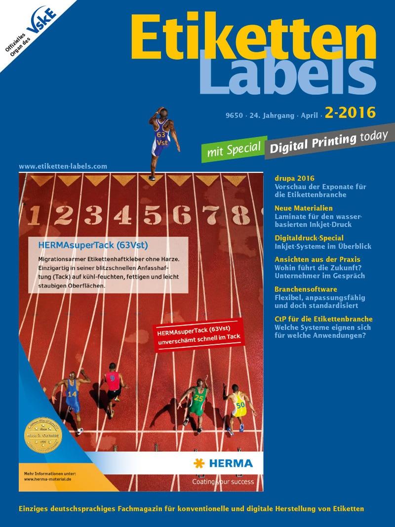 Produkt: Etiketten-Labels Digital 2/2016