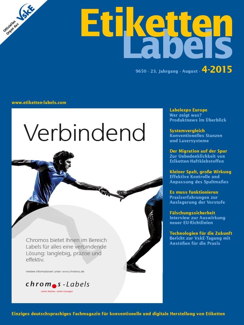 Produkt: Etiketten-Labels Digital 4/2015