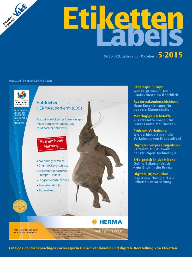 Produkt: Etiketten-Labels Digital 5/2015