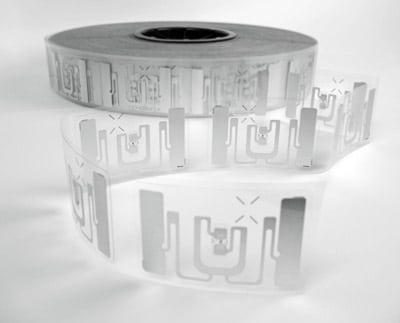 RFID-Antennen auf der Rolle