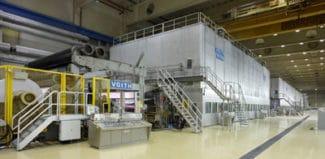 Die Papiermaschine 3 der neuen Zanders-Paper GmbH