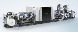 Gallus E 340 Etikettendruckmaschine