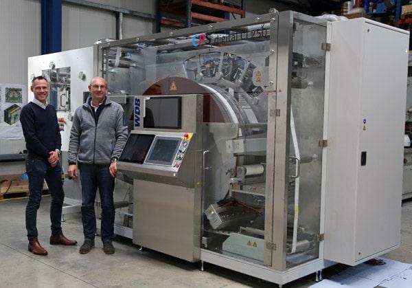 WDB Systemetechnik Digitaldruckmaschine