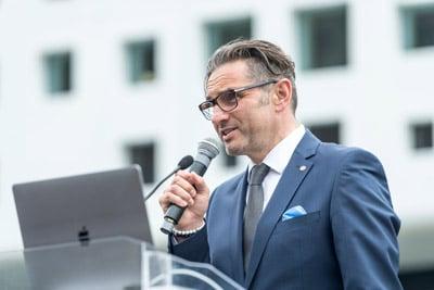 Durst Neubau Eröffnung Christoph Gamper