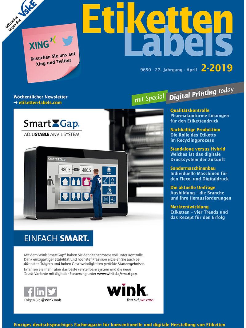 Produkt: Etiketten-Labels 2/2019 Digital