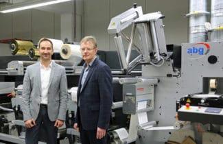 Geschäftsführer Mischa Barthel (l.) und ABG-Vertriebsleiter Klaus Nordlohne