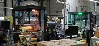 Neben mittlerweile neun HP-Digitaldruckmaschinen verfügt Barthel auch über diverse UV-Offset- und UV-Flexodrucksysteme