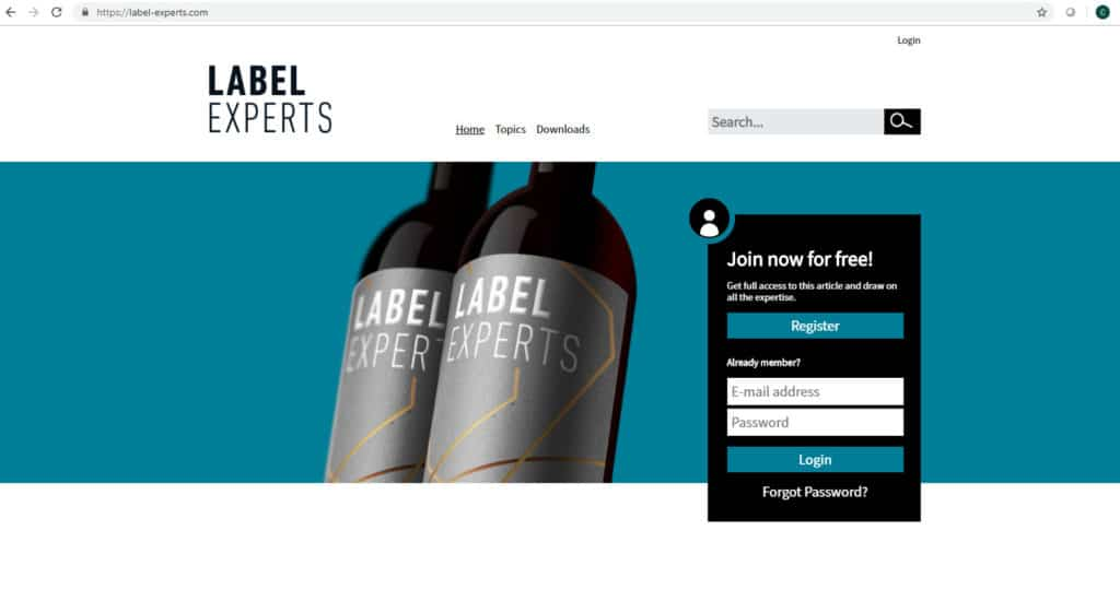 Heidelberg Portal Label Experts
