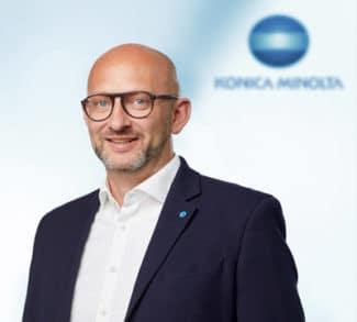 Daniel Schulz, Product Manager Label Printing, Konica Minolta: