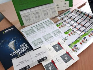 Imprima LJ Offsetdruck Druckmuster