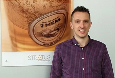 Julien Chauveau, R&D Manager bei Stratus Packaging