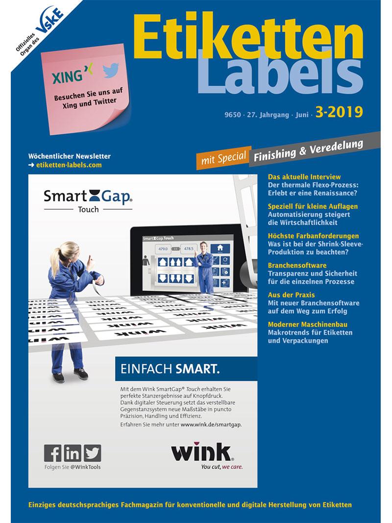 Produkt: Etiketten-Labels 3/2019 Digital