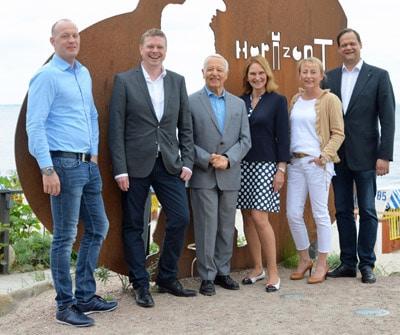 Der neu gewählte VskE-Vorstand: (von links) Alexander Schlegel, Manuel Heidbrink, Prof. Dr. h.c. Helmut F. Schreiner (Ehrenvorsitzender des VskE), Anke Hoefer, Susanne Daiber und Robert Mägerlein