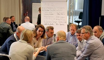 Teilnehmer des Round Table zur Nachhaltigkeit
