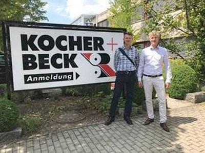 Tom Duley von Etiketten-Labels sprach mit Lars Beck, Geschäftsführer der Kocher & Beck GmbH & Co. Rotationsstanztechnik KG, Pliezhausen