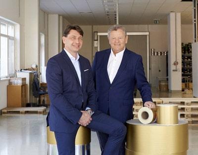Ferdinand Hager (l.), Geschäftsführender Gesellschafter und 100-%-Eigner von Insignis, und Erwin Pudek, Geschäftsführer