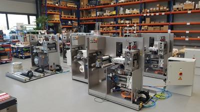 Anlage für mehrlagige Isolatoren