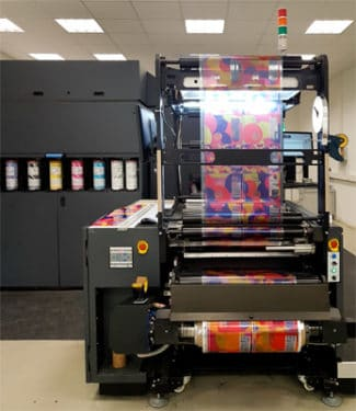 HP Indigo 20000 bei Folienprint