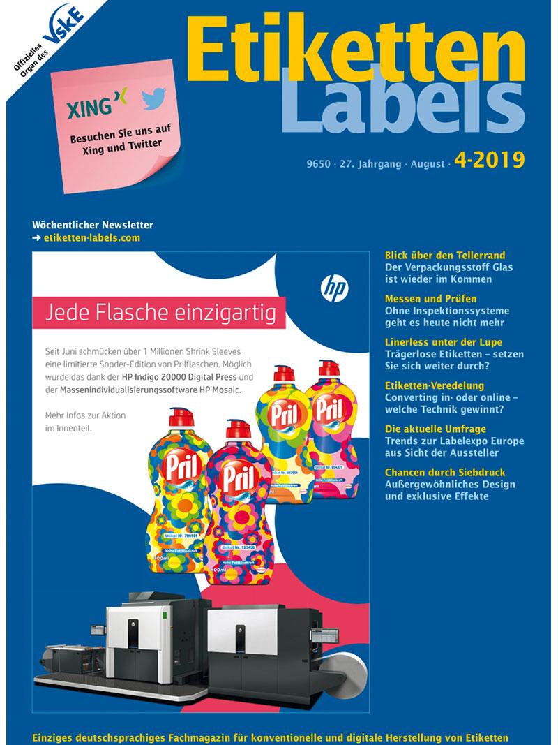 Produkt: Etiketten-Labels 4/2019 Digital