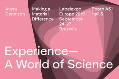 Logo World of Science Avery Dennison