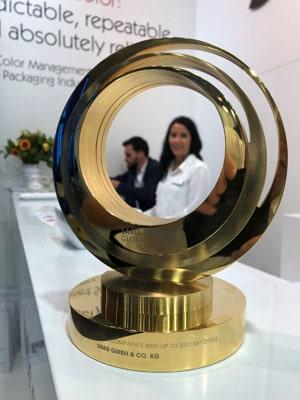 GMG gewann den diesjährigen Label Industry Global Award für seine Prooflösung und Farbmanagement