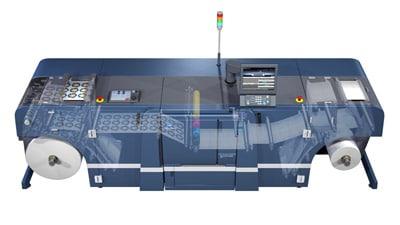 Etikettendrucksystem AccurioLabel 230 von Konica Minolta