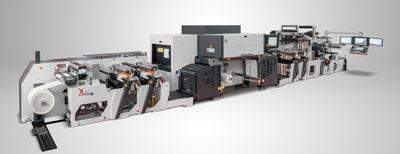 Die XJet von Omet ist eine Hybrid-Maschine mit Flexo- und Inkjet-Digitaldruck