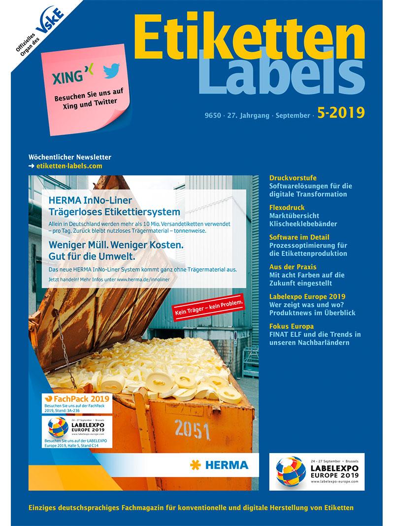 Produkt: Etiketten-Labels 05/2019 Digital