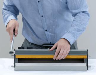 """""""Tresu und Flexo Concepts präsentierten auf der Labelexpo ein schnell wechselbares Kunststoffrakelsystem"""