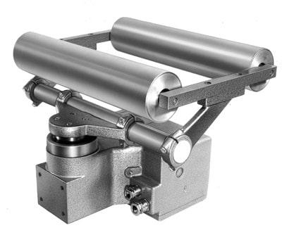 Eines der ersten E+L-Geräte für die Druckindustrie: der Drehrahmen VG 50