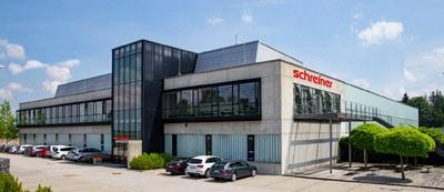 Das Werk der Schreiner Group Dorfen, der zweite Produktionsstandort in Deutschland