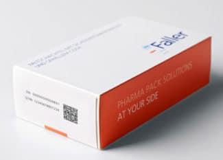 August Faller bietet seinen Kunden ab sofort auch Pharma-Verpackungen mit russischen Krypto-Codes an