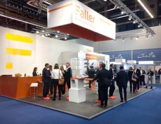 Aus August Faller wird Faller Packaging: Das Unternehmen hat auf der CPhI in Frankfurt erstmals seinen neuen Markenauftritt öffentlich vorgestellt