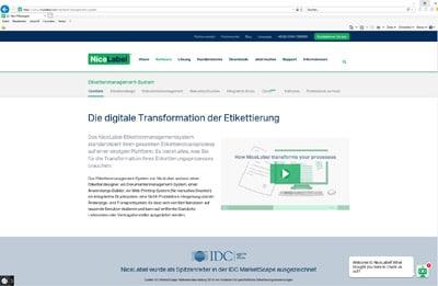 Mit dem Label-Management-System (LMS) ermöglicht NiceLabel die Vereinheitlichung den Kennzeichnungsprozesses bei Boehringer Ingelheim
