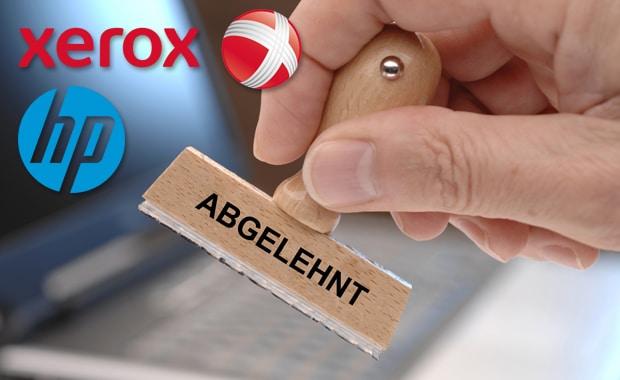 HP hat das Übernahmeangebot von Xerox offziell abgelehnt.