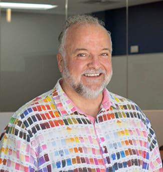 John Ortiz, Memjet Vice President of Inks and Materials
