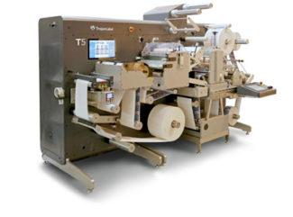 Die TrojanLabel T5 ist eine neue Etikettendruckmaschine, die in Deutschland über AstroNova vertrieben wird