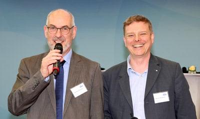 Das Duo an der Spitze des VskE: Geschäftsführer Klemens Ehrlitzer (l.) und Vorsitzender Manuel Heidbrink