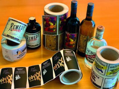 Digital produzierte Etikettenbeispiele von Inform Etiketten