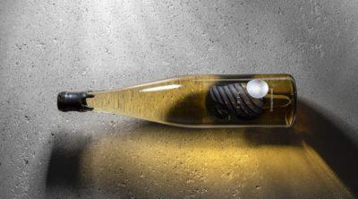 Transparente Weinetiketten sind modern und stehen für Frische und Eleganz