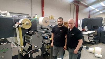 Die neue Grafotronic DCL2 sorgt bei Kemna Druck Kamen für neue Möglichkeiten und eine effizientere Produktion
