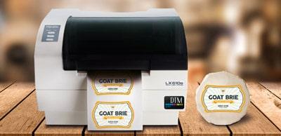Der Desktop-Etikettendrucker DTM LX610e eignet sich gut für kleine Auflage, kleine Format und schnellen Service für Etiketten mit Konturenschnitt