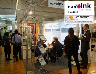 Das Netzwerk nanoInk und Partner präsentieren auf der LOPEC 2020 neue Tintensysteme für gedruckte Elektronik