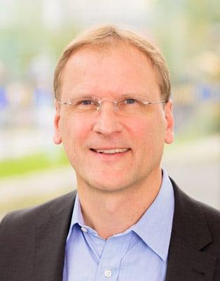 """Dr. Stefan Stadtmueller: """"Ökologie & Nachhaltigkeit sind wichtige Themen für die Label-Industrie."""" (Quelle: Evonik)"""