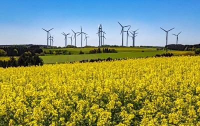 UPM setzt auf Nachhaltigkeit und will dazu Windkraft nutzen