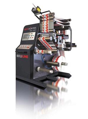 Rotocontrol Ecoline RSI-340 Inspektions- und Schneidemaschine (Quelle: Rotocontrol)